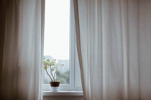Translucent curtains will help you for bringing more natural light into your home